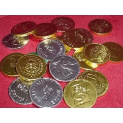 Chocolate Logo Coins