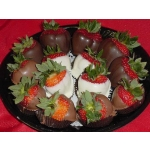 Chocolate Covered Strawberry Platter