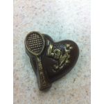 Sports - Tennis Heart With Love