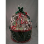 Holiday Round  Basket