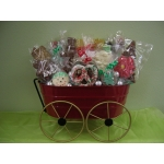 Holiday Wagon Basket (Unwrapped)
