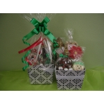 Holiday Gift Basket (Wrapped and Unwrapped)