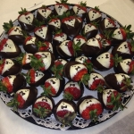 Chocolate Strawberries-Tuxedo